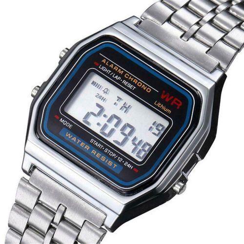 0716aa9222be Reloj digital retro A164 - Relojes Baratos