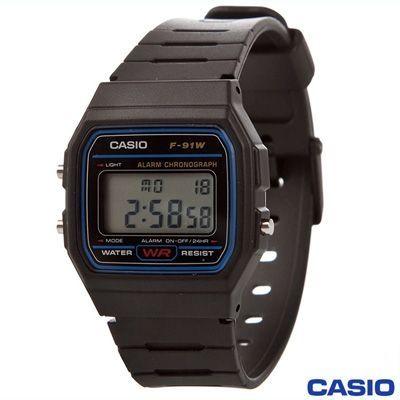 7d0c6cee92d1 Reloj digital retro F-91W F91W. ORIGINAL Casio - Relojes Baratos