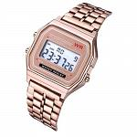 Reloj digital retro A159 Oro rosa