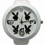 Reloj Play Boy Blanco